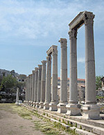 The agora of the ancient Greek city of Smyrna